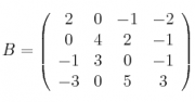 B = 